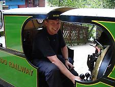 Driver posing on Mad Bess