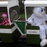 Easter Eggspress 2012 - A wannabe train guard!?