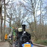 The Easter Eggspress arrives at Eleanor's Loop