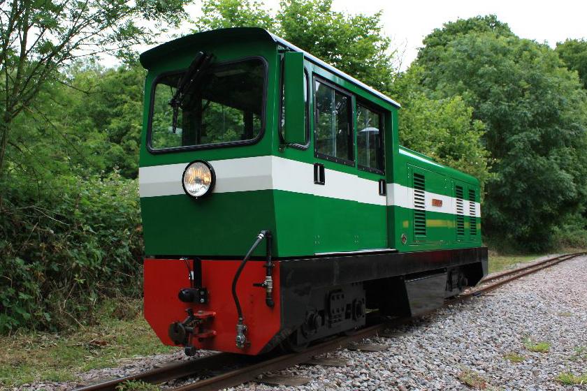Locomotive No.8 'Bayhurst'